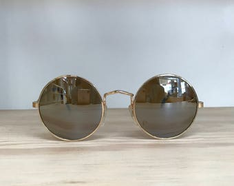 More colors! Round circle vintage sunglasses