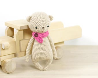 Small teddy bear - Amigurumi bear