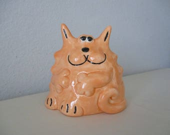 Ceramic Cat Sponge Holder