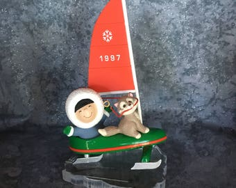1997 Frosty Friends #18  Hallmark QX6255