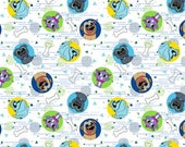 Puppy Dog Pals  cotton  Standard/Toddler pillowcase