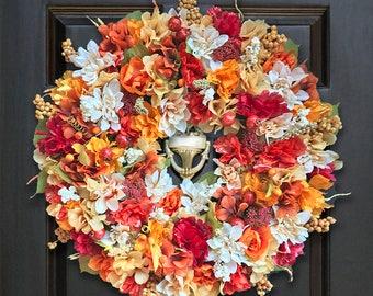 Fall Wreaths, Autumn Wreaths,  Fall Door Decor, Beautiful Fall Wreaths, Door Wreaths for Fall, Decorative Fall Wreath
