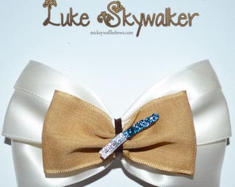 Luke Skywalker Hair Bow
