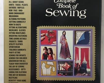 Complete Book of Sewing 1972 edition