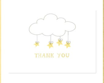 Twinkle, Twinkle Baby Shower Thank You Notes