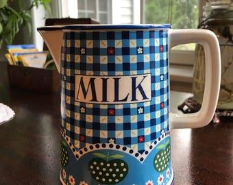 Vintage Milk Pitcher