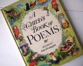Vintage Child's Book of Poems by Gyo Fujikawa