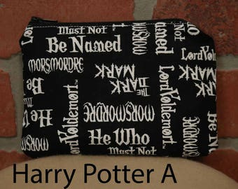 One Snack Sack, Harry Potter, Reusable Lunch Bags, Waste-Free Lunch, Machine Washable, Back to School, School Lunch, item #SS56