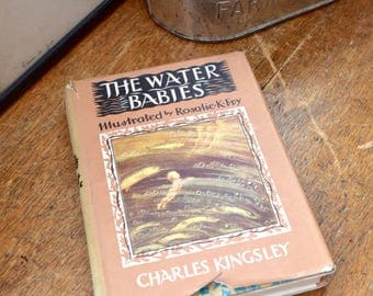 The Water Babies Charles Kingsley Vintage Children's Illustrated Book