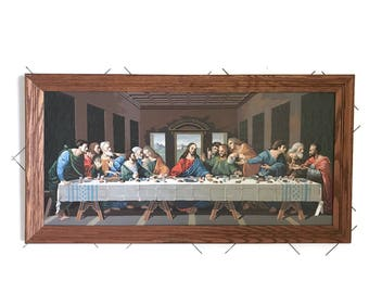 Last Supper Wall Etsy