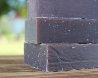 FULLY PATCHOULI Shampoo Bar - Patchouli and Real Silk Shampoo Bar with Cocoa and Shea Butters