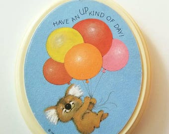 """Vintage 1984 Hallmark """"Have an up kind of day!"""" Plaque"""