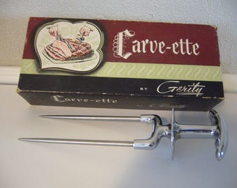 Carve-ette Carving Tool - Heavy Duty Carving Tool - Holiday Serving Tool
