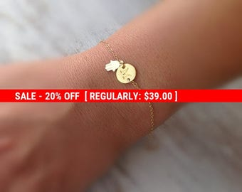 SALE 20% OFF initial bracelet, hamsa, bracelet, letter bracelet,gold bracelet, friendship, hamsa, anklet -599