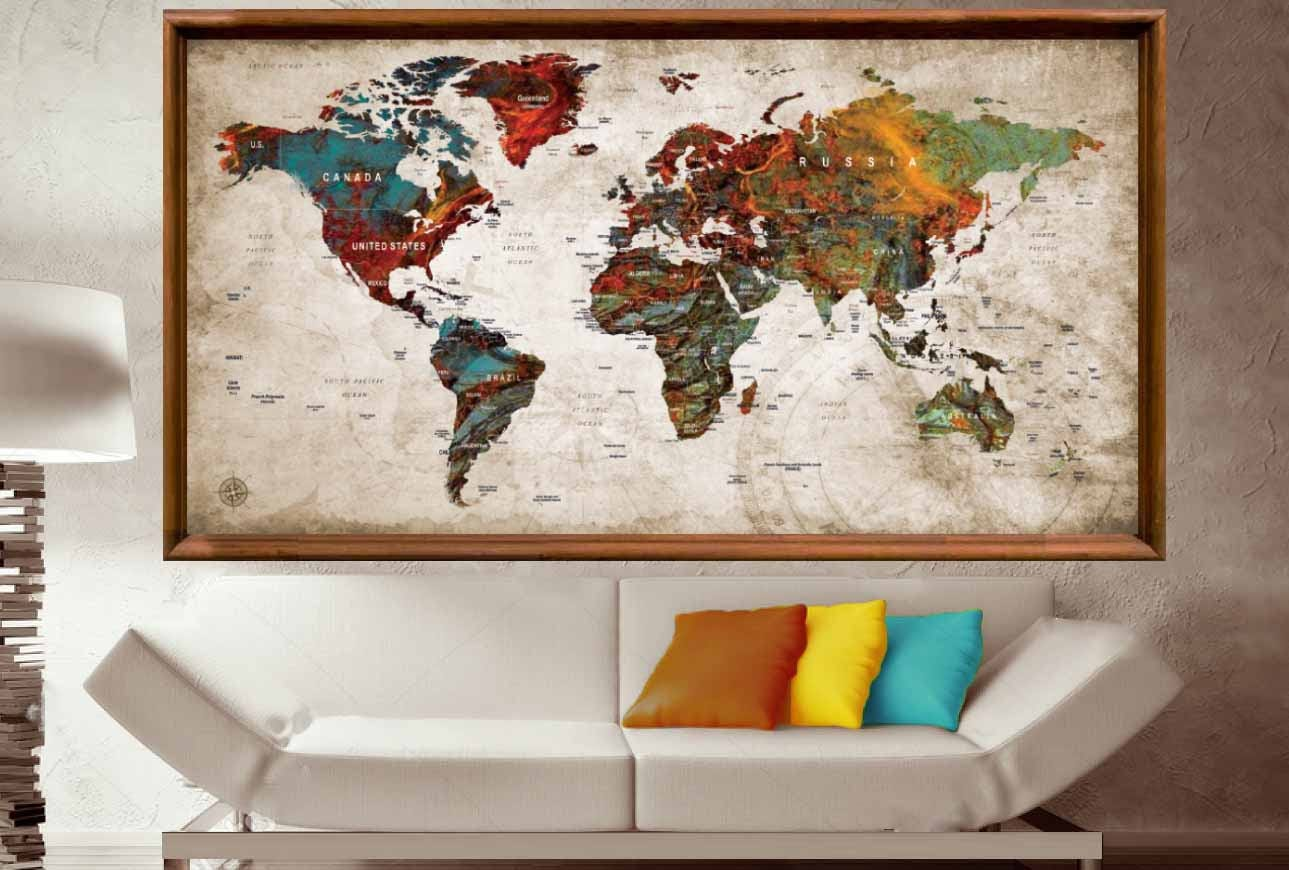 Large world map posterworld map wall artworld map push pinpush large world map posterworld map wall artworld map push pinpush pin map arttravel map posterpush pin map posterworld map decalabstract gumiabroncs Image collections