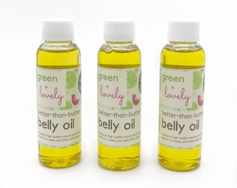 Better Than Butter Belly Oil, Vitamin E Infused Pregnancy Belly Oil, Stretch Mark Prevention Oil, Vegan Organic Belly Oil for Mom to Be