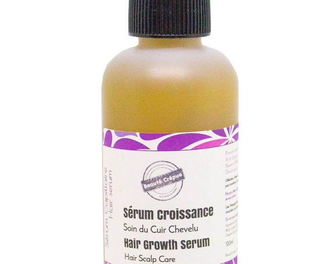 Hair Growth Serum - Scalp Treatment - With Jamaican Black Castor Oil, Mustard Oil, Nard Oil, Extracts of Nettle, Garlic and Onion