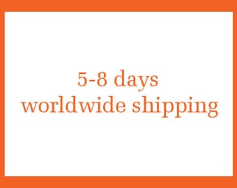 worldwide secured shipping in 4-6 days