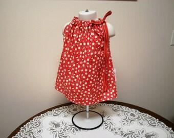Daisy Pillowcase Dress size 6 - 12 Months