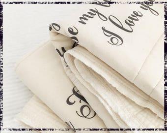 blankets for ladder, anniversary, adult blanket, gift blanket, her blanket, his blanket, anniversary blanket, cotton gift blanket, custom