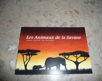 """Autographed book: """"Animals of the Savannah"""""""
