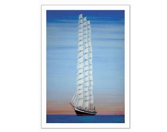 Tallest Ship - Limited edition print