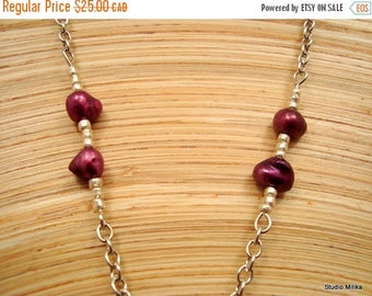 ON SALE Pearl Eyeglass Chain, Fresh Water Pearl Glasses Necklace, Purple Eyeglass Chain, Reading Glasses Chain, Pearl Lanyard, Pearl Glasses