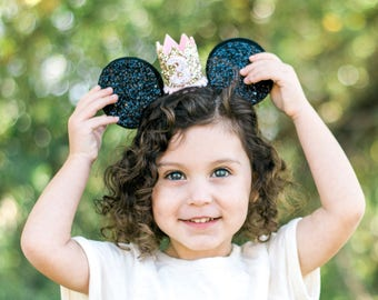 Minnie Ears || Micky Mouse Ears || Mouse Ears || Disneyland Headband || Mickey Birthday ||  Minnie Birthday