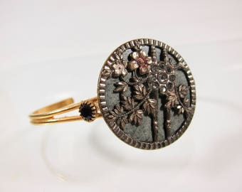 Vintage Victorian 1930s Adjustible Button Bracelet