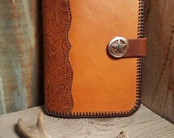 Hand Made Leather Portfolio, legal Pad Folder, Desk Portfolio