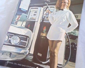 Signal Gasoline Signal Oil Magazine The Blender 1970