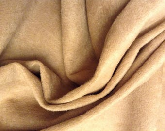 Tan Suedecloth By The Yard Is Soft, Elegant, and It's Washable!