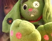 Adoptable Plush Zombeiz Bunneiz ( bunny plush zombie)