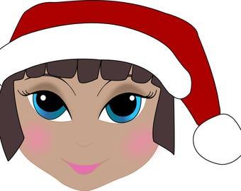 Christmas Elf SVG cut file