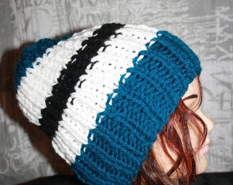 Hat (side 1: 1) man /ado sleeves