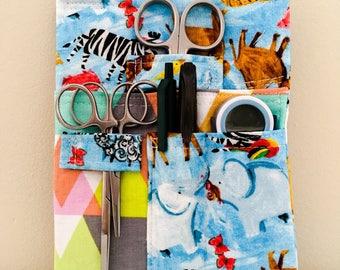 Animal Lover Tool Belt Pouch Scrub Pocket Organizer Vet Tech Vet Doctor Nurse