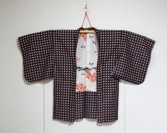 Vintage Kimono Jacket - Haori - Suzume