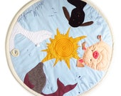 Baby play mat Animal theme baby activity mat, zoo themed playmat, colorful sensory play mat, interactive baby tummy time mat, kids rug room