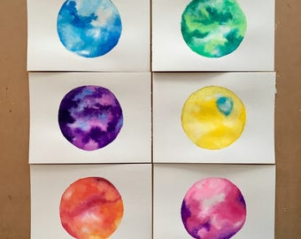 SALE Inside Out Inspired Watercolor Set