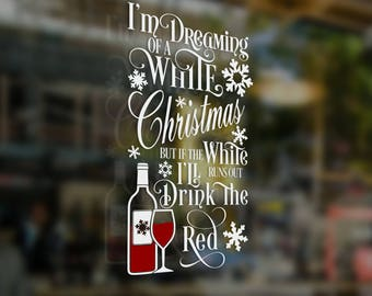 White Christmas Red Wine Holiday Special