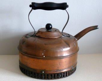 Old Vintage Copper Kettle - Linaglow