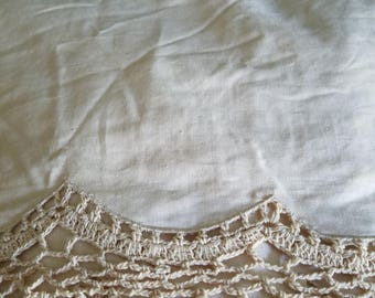 Vintage Twin Shabby Chic Bed Skirt