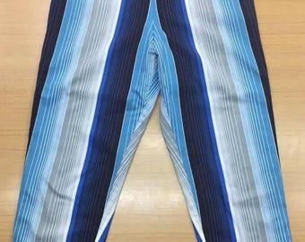 1950s REVERSIBLE capri pants