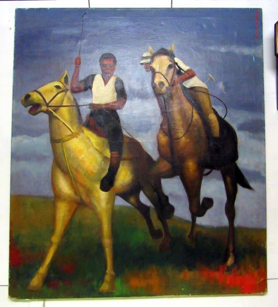 Horse Oil Painting - huge!