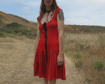 Betsey Johnson Punk Label Knit Dress sz Sm