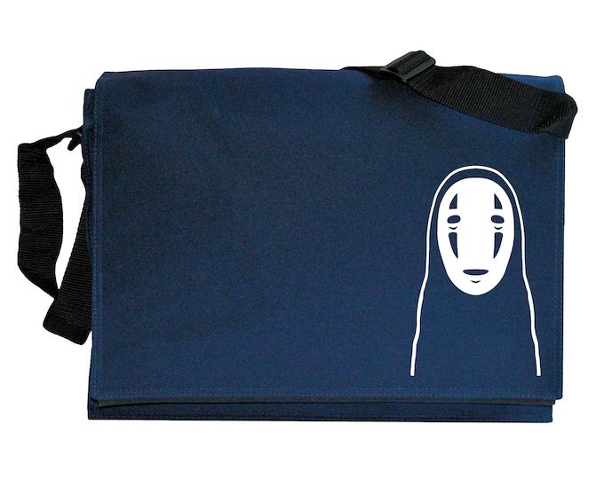 Kaonashi No Face Spirit Navy Blue Messenger Shoulder Bag