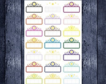 Movie Marquee stickers for your erin condren life planner, happy planner, filofax, kikki k or any planner