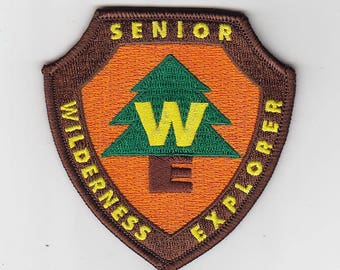 Senior Wilderness Explorer embroidered patch