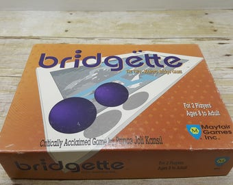 Bridgette, 1991, vintage card game
