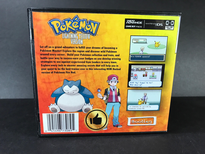 Pokemon thunder yellow rom free download